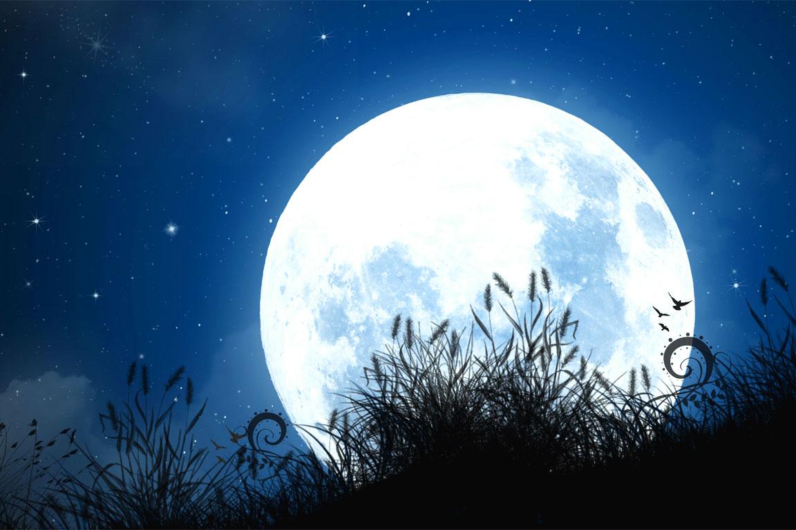 Risultato immagini per poesia alla luna